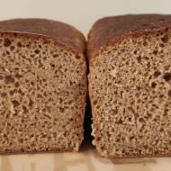 Chleb żytni na zakwasie w keksówce