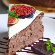 NAJLEPSZY sernik kakaowy pod pierzynką