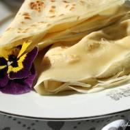 Naleśniki z białym serem