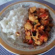 Chiński kurczak gongbao