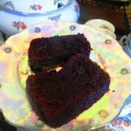 Ciasto czekoladowe z fasoli  ( bez mąki)