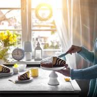 Tradycyjne Ciasto Zebra- na oranżadzie
