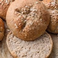 Bułki pszenno-żytnie z miodem (5 składników)