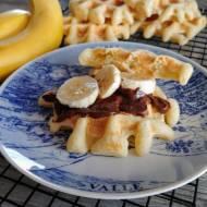 Gofry bananowe