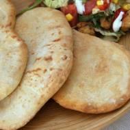 Greckie chlebki pitta