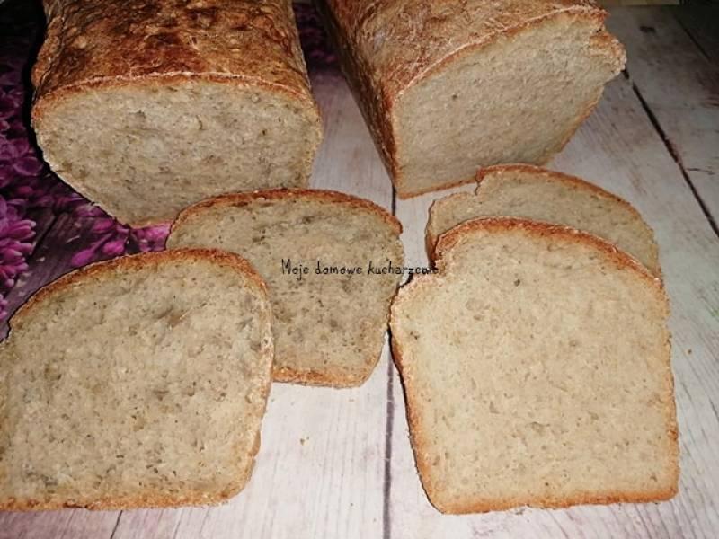 Chleb z niewielką ilością drożdży