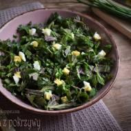 Surówka z pokrzywy – kuchnia podkarpacka