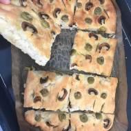 Focaccia bez zagniatania - włoskie pieczywo