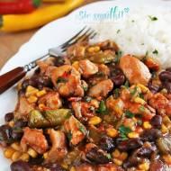 Gulasz meksykański z udek kurczaka
