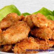 Soczysty kurczak w krakersach