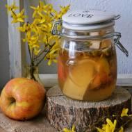 Z ŁĄKI NA TALERZ: Domowy ocet jabłkowy z forsycją