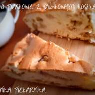 Ciasto piaskowe z kosteczkami jabłek