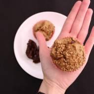 Żytnie muffinki z otrębami i suszonymi pomidorami