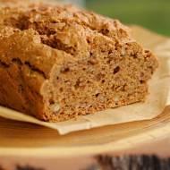 Chleb na maśle orzechowym z siemieniem lnianym (keto)
