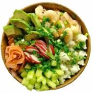 Sushi bowl, czyli sushi bez zawijania