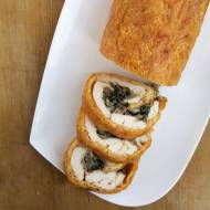 Rolada z kurczaka z serem i pieczarkami / Chicken Roulade with Cheese and Mushrooms