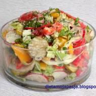 Surówka majówka - z pysznym sosem