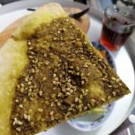 Liban - Chlebek z za'atarem (Manoush b Za'atar)