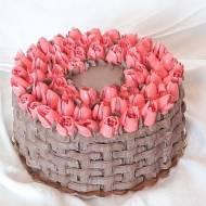 Tort migdałowo-czekoladowy