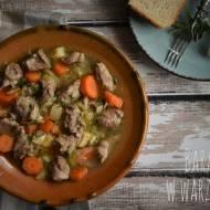Baranina w warzywach - kuchnia podkarpacka