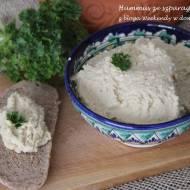Hummus ze szparagami