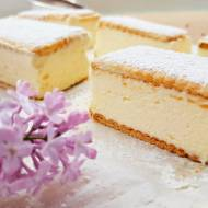 Kremówka vel napoleonka – bardzo łatwe ciasto bez pieczenia z pysznym kremem