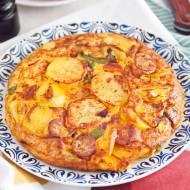 Hiszpański omlet ziemniaczany tortilla de patatas. PRZEPIS