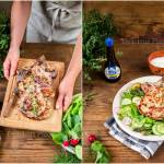 Aromatyczny schab z wiosennymi warzywami / Aromatic pork chop with spring vegetables