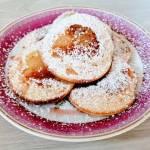 Racuchy z bananami z mąki orkiszowej
