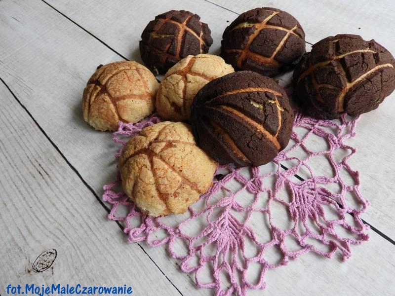 Conchas - meksykańskie słodkie bułeczki