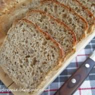 chleb pszenno - żytni na drożdżach