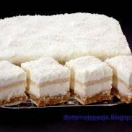 Proste ciasto kokosowe - bez pieczenia