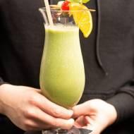 Koktajl z brokułem i szpinakiem