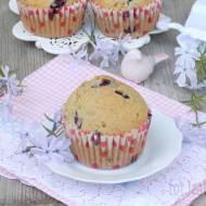 Muffinki z makiem i jagodami kamczackimi