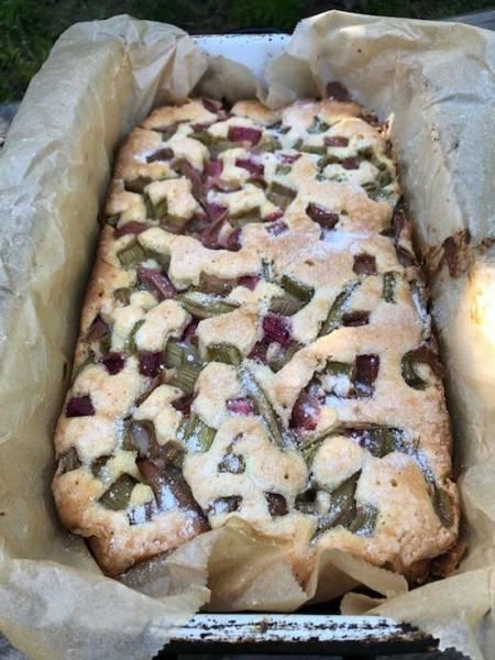 Ciasto z rabarbarem, prosty przepis