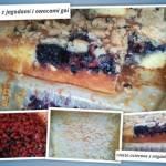 ciasto z migdalami i owocami