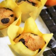 Muffinki pomarańczowe z czekoladą - nowy post na słodkich sio-smutkach!