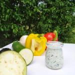 Ziołowy dip do warzyw