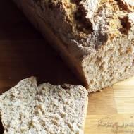 Błyskawiczny chleb pszenny z mąki pełnoziarnistej