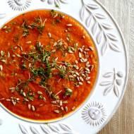 Marchewkowo dyniowa zupa krem