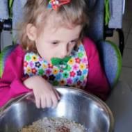 Dziecko niepełnosprawne w kuchni