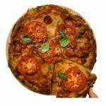 Pizza diavola na cieście z kalafiora