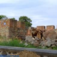 Ruiny Zamku Krzyżackiego w Szczytnie woj. warmińsko - mazurskie