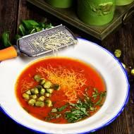 Zupa krem z pomidorków koktajlowych