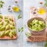 Kopytka szpinakowe / Spinach gnocchi