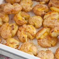 Miażdżone ziemniaki z piekarnika. Ale one są pyszne! PRZEPIS