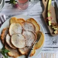 Racuchy z rabarbarem – kuchnia podkarpacka