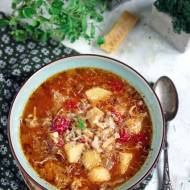 Zupa minestrone z młodą kapustą