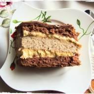 Tort Kawowo - Orzechowy
