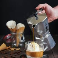 Cafe affogato i domowe lody waniliowe (bez maszyny)